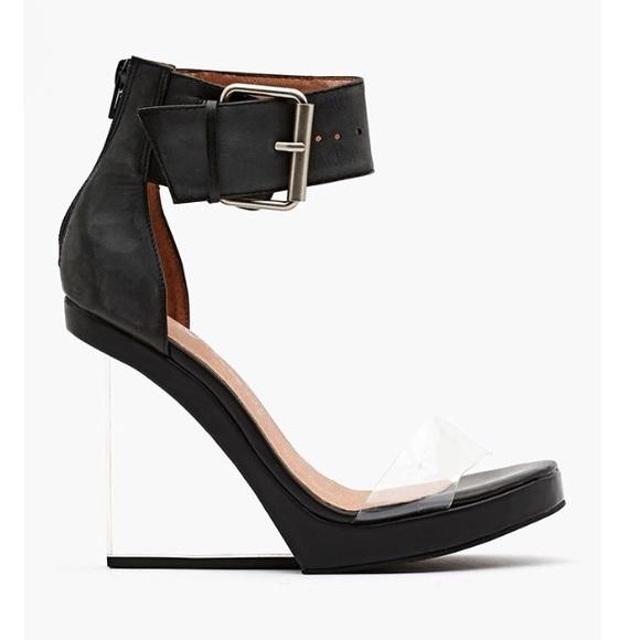 b33ec3d15f Jeffrey Campbell Shoes   Jeffery Campbell Lucite Heel Wedge   Poshmark